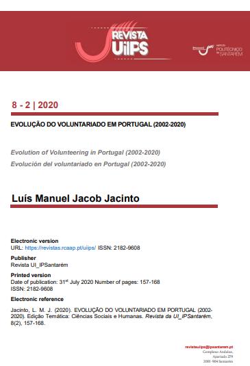 Evolução do Voluntariado em Portugal (2002-2020)