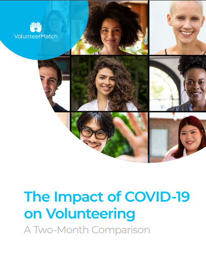 The Impact of COVID-19 on Volunteering: A Two-Month Comparison