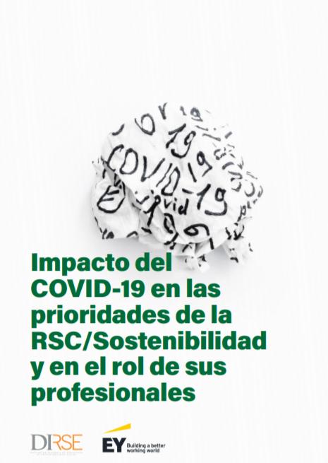 Impacto del COVID-19 en las prioridades de la RSC-Sostenibilidad y en el rol de sus profesionales