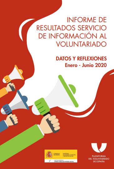 Servicio de Información al Voluntariado: Datos y Reflexiones (enero a junio 2020)