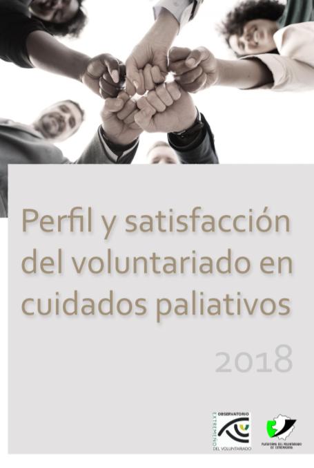 Voluntariado en Cuidados Paliativos de Extremadura (2018)