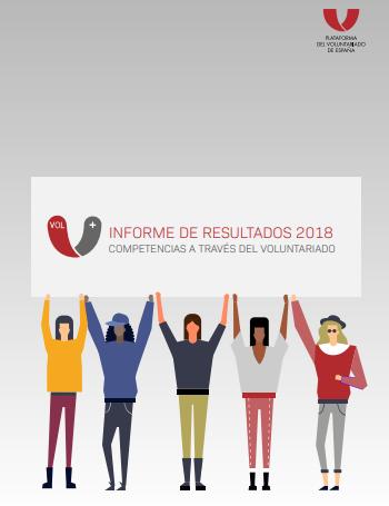 Informe de resultados 2018: Competencias a través del Voluntariado