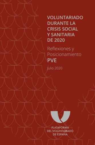 Voluntariado durante la crisis social y sanitaria de 2020: Reflexiones y posicionamiento PVE