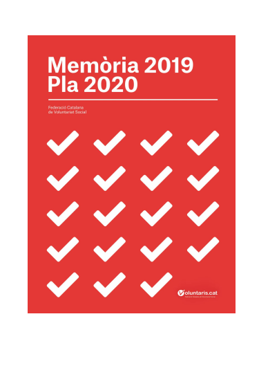 Memória 2019 y Plá 2020