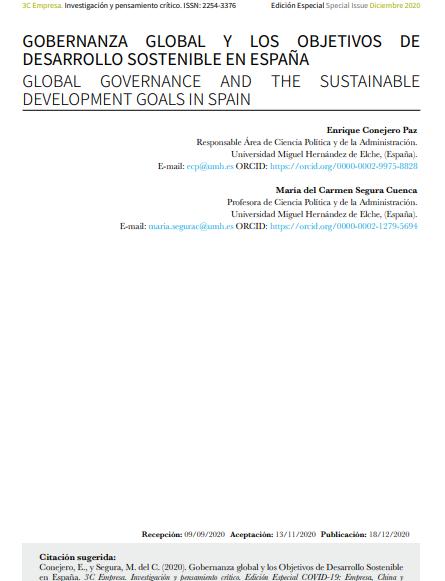 Gobernanza Global y ODS en España