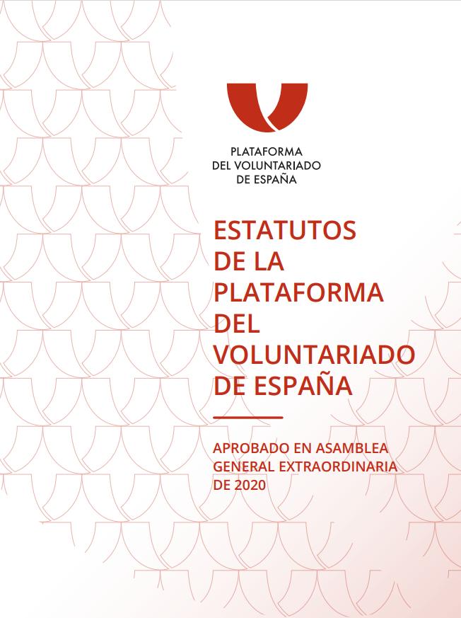 Estatutos de la Plataforma del Voluntariado de España