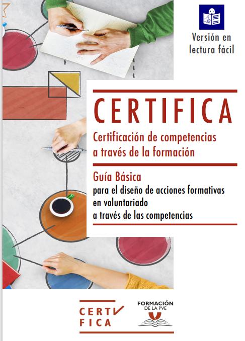 Guía Básica para el diseño de acciones formativas en Voluntariado a través de las competencias (Formato Accesible)