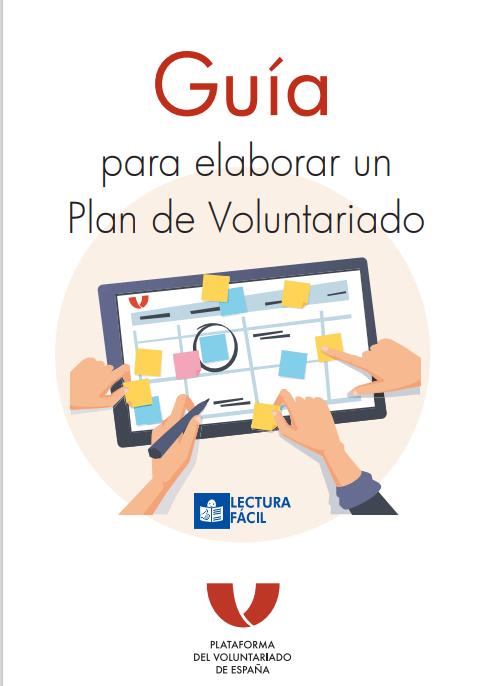 Guía para elaborar un Plan de Voluntariado (Lectura fácil)