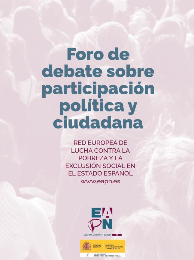 Foro de debate sobre participación política y ciudadana