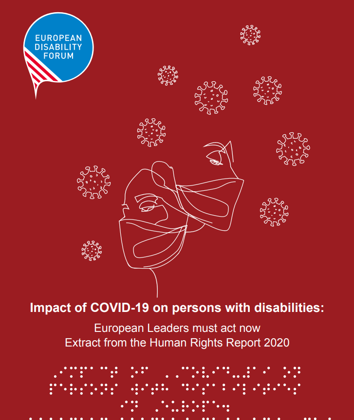 Impact of COVID-19 on persons with disabilities