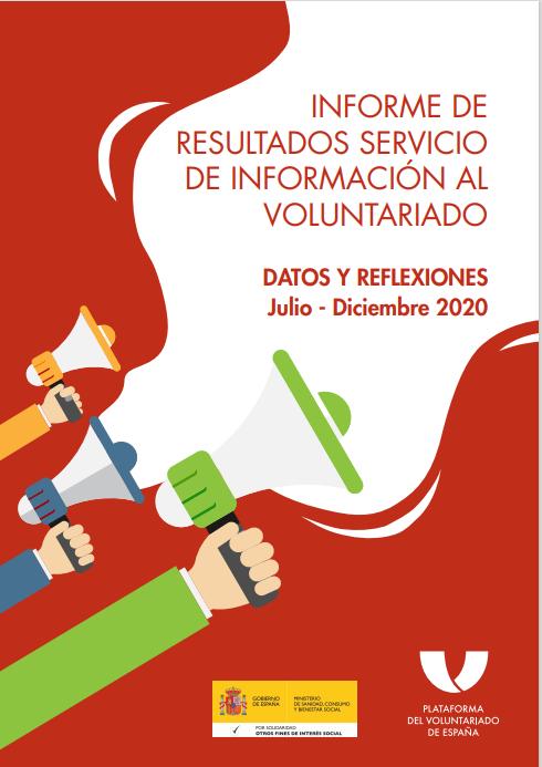 Servicio de Información al Voluntariado: Datos y Reflexiones (Julio a diciembre 2020)