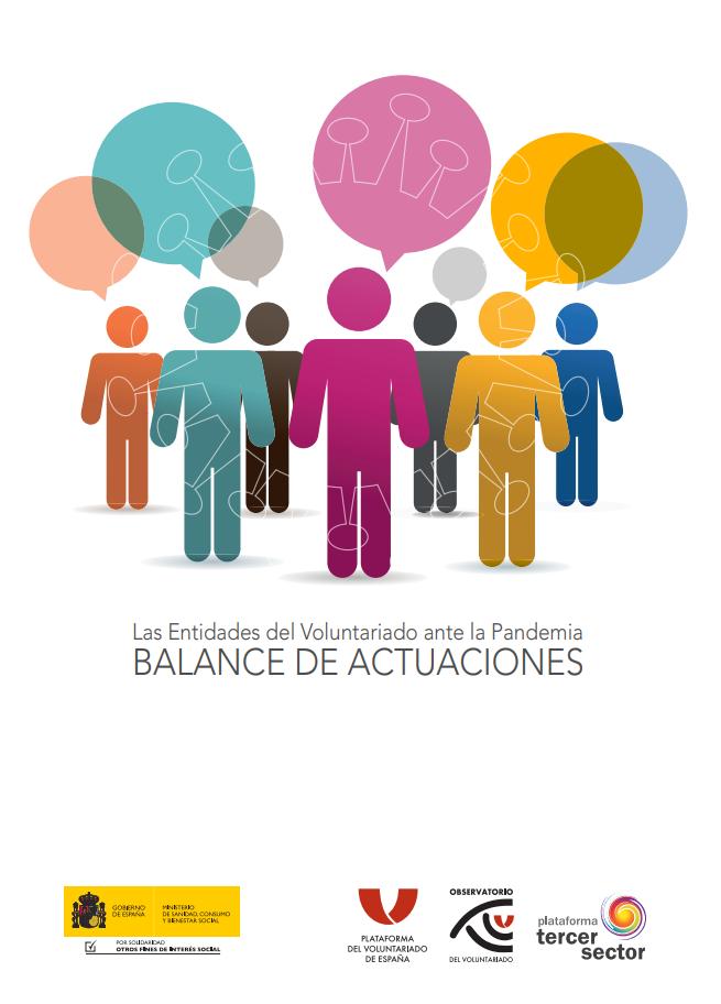 Las Entidades del Voluntariado ante la Pandemia: Balance de Actuaciones
