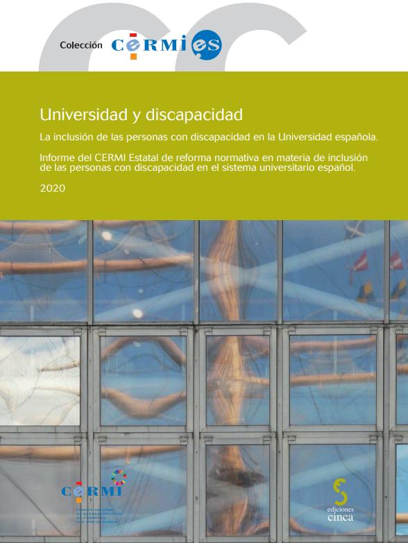 Universidad y discapacidad: la inclusión de las personas con discapacidad en la Universidad española