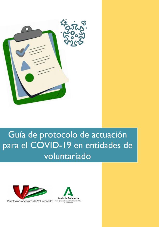 Guía de protocolo de actuación para el COVID-19 en entidades de voluntariado