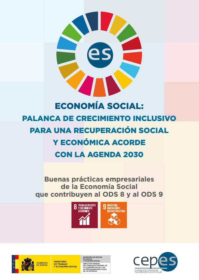 Buenas prácticas empresariales de la Economía Social que contribuyen al ODS 8 y al ODS 9
