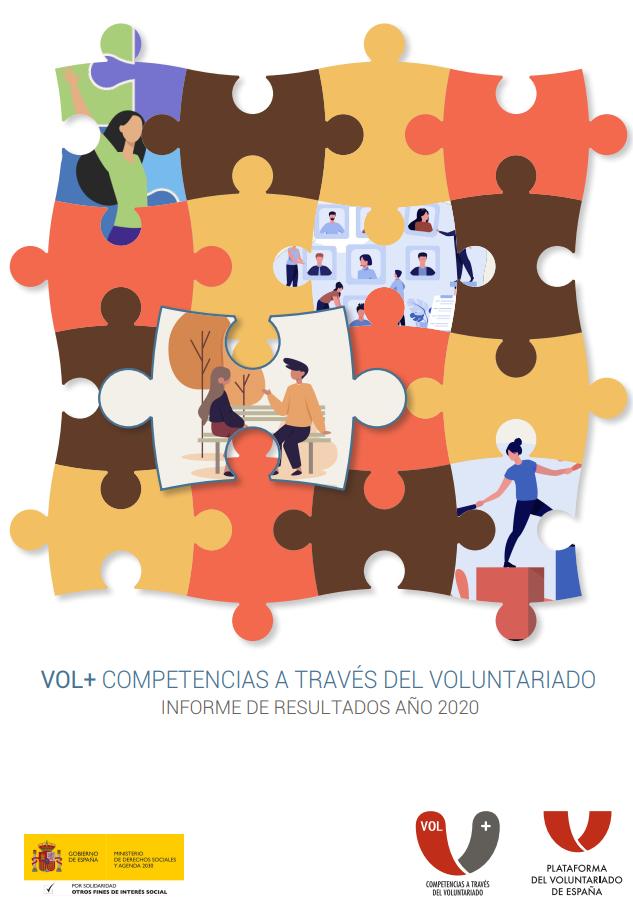 Informe de Resultados 2020: Competencias a través del Voluntariado