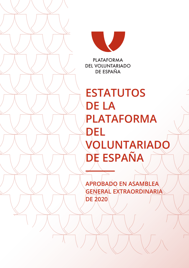 Estatutos de la Plataforma del Voluntariado de España (Lectura fácil)