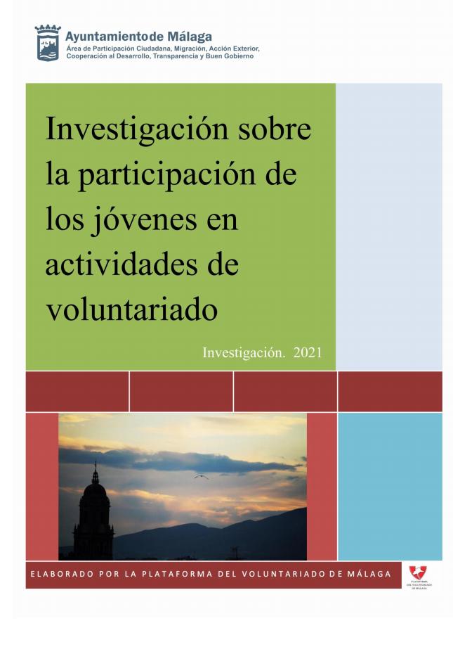 Investigación sobre la participación de los jóvenes en actividades de voluntariado