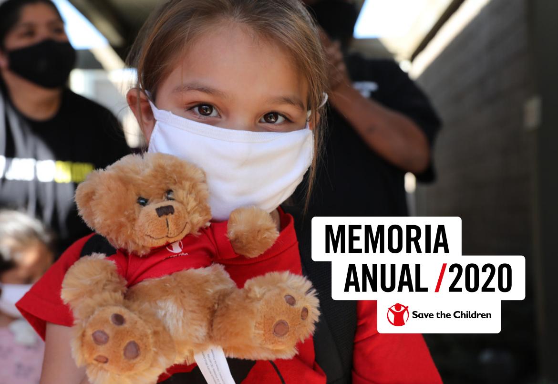 Memoria Save the Children 2020