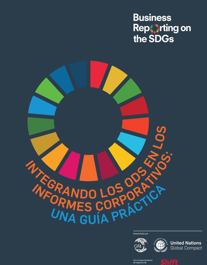 Integrando los ODS en los informes corporativos: una guía práctica